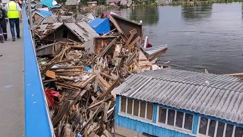 В Иркутской области назвали предварительный ущерб от паводка