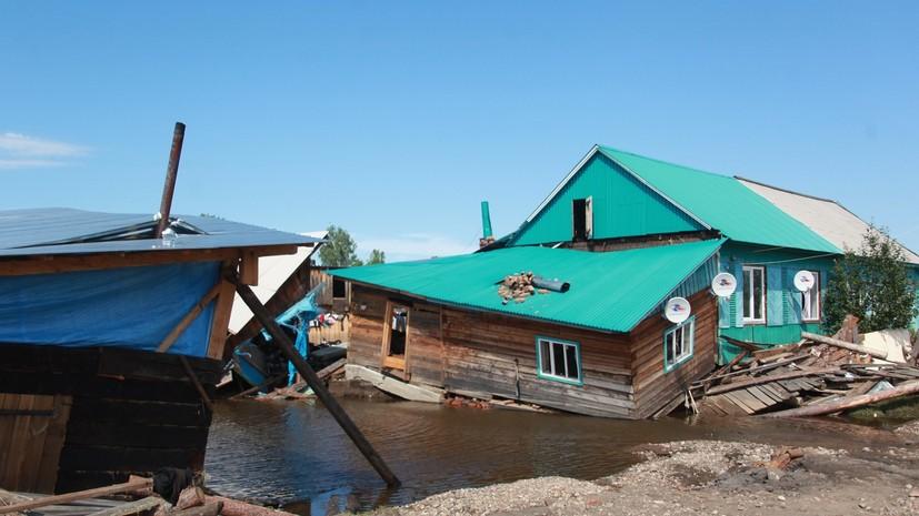 Путин объявил наводнение в Иркутской области ЧС федерального характера