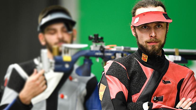 «Нести флаг — большая честь»: стрелок Каменский о жаре на Европейских играх, церемонии закрытия и Олимпиаде в Токио