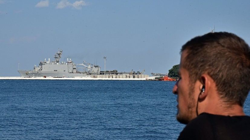 Корабли НАТО зашли в порт Одессы в рамках учений Sea Breeze