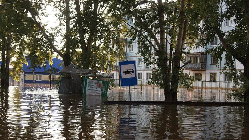 Власти ХМАО заявили о готовности помочь детям, пострадавшим от паводка в Иркутской области
