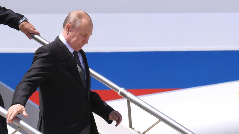 Конте рассказал об ожиданиях от визита Путина в Италию