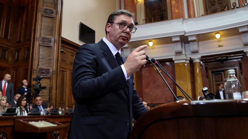 Власти Косова запретили въезд всем официальным лицам Сербии