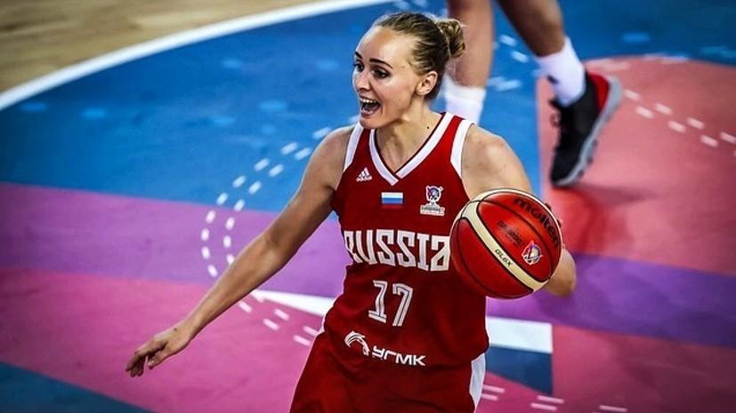 Женская сборная России крупно уступила Испании в четвертьфинале Евробаскета-2019