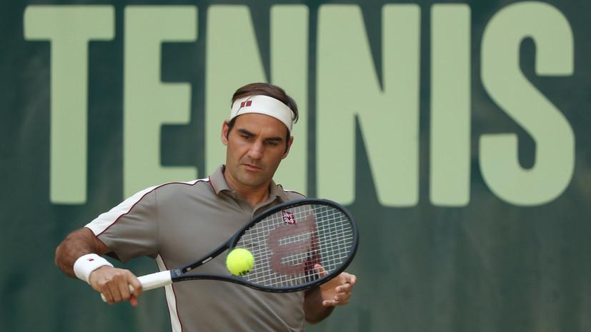 Федерер вышел в третий круг Уимблдона