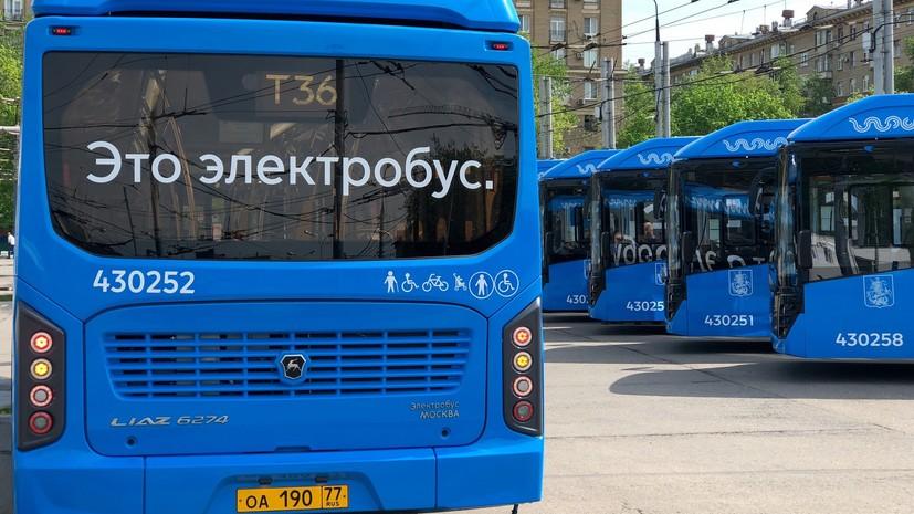 Московские электробусы перевезли более 6 млн пассажиров с сентября 2018 года
