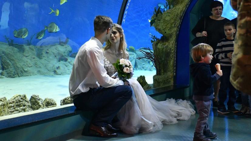 Более 850 пар поженились на новых площадках для регистрации брака в Москве за два месяца