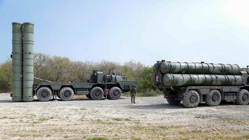 В Крыму прошли учения с участием комплексов «Триумф» и «Панцирь»