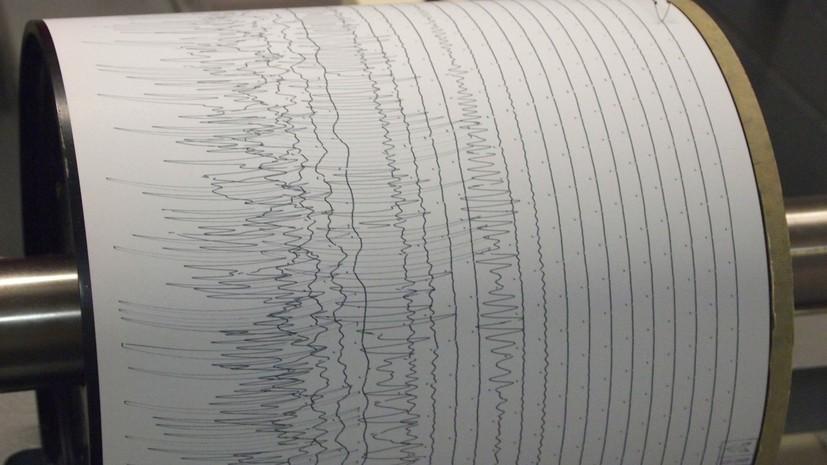 В Киргизии произошло землетрясение магнитудой 5,0