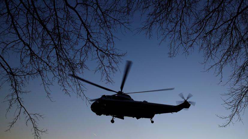 При крушении вертолёта на Багамах погибли семь американцев