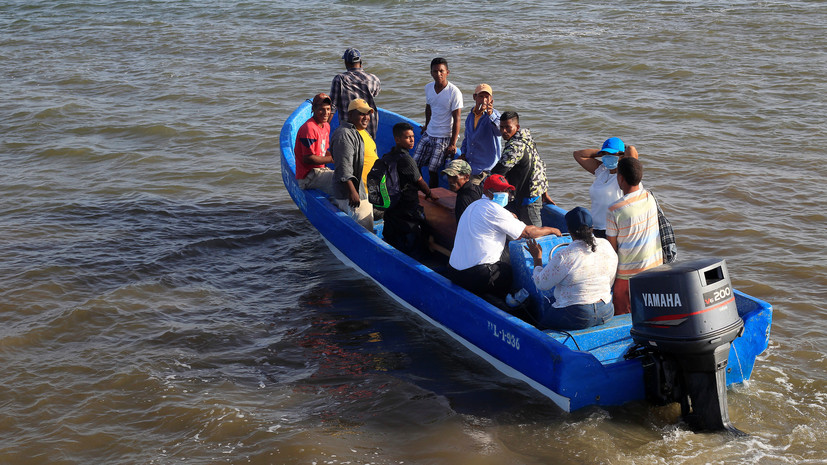 При крушении лодки у берегов Гондураса погибли 27 человек