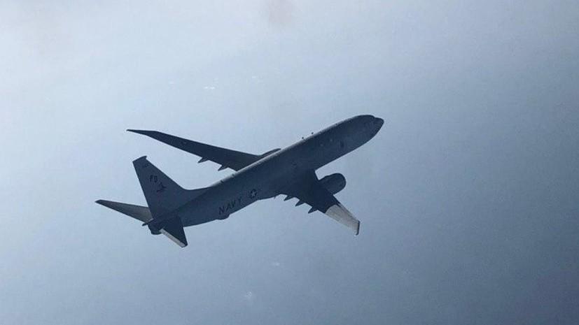 Су-27 перехватил самолёт-разведчик США над Чёрным морем