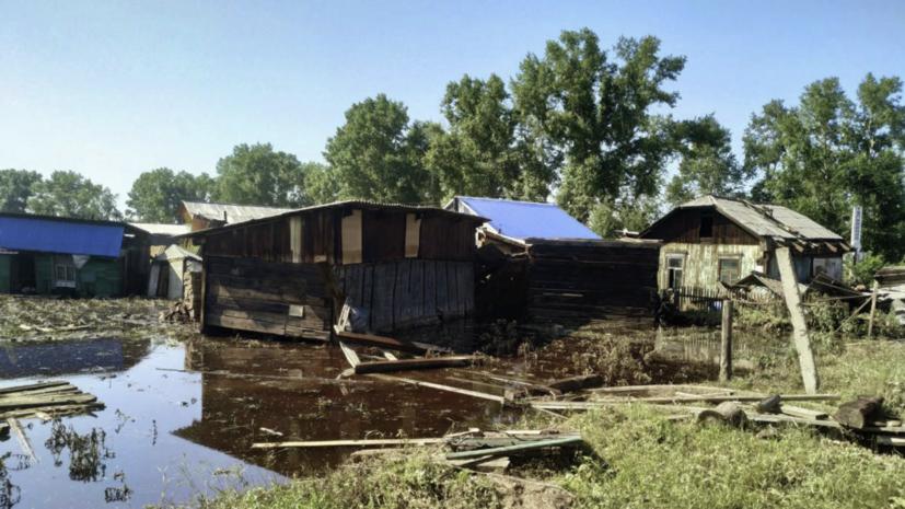 Пострадавшим от паводков в Иркутской области выплатили 165 млн рублей