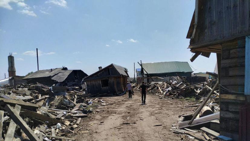 Военные начали ликвидацию последствий наводнения в Иркутской области