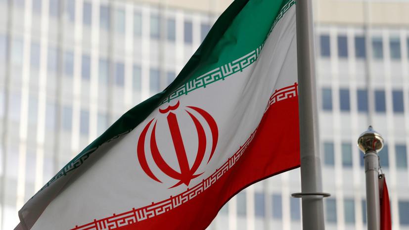 В ограждение резиденции посла России в Иране въехал грузовик