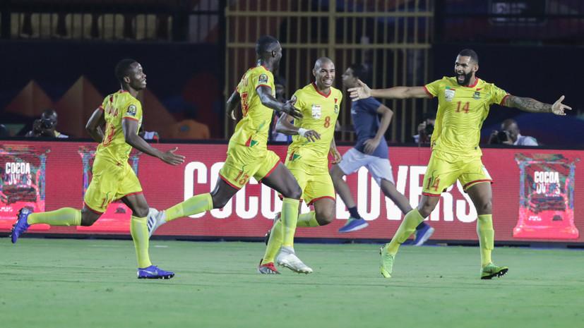 Сборная Бенина стала первым четвертьфиналистом Кубка африканских наций по футболу