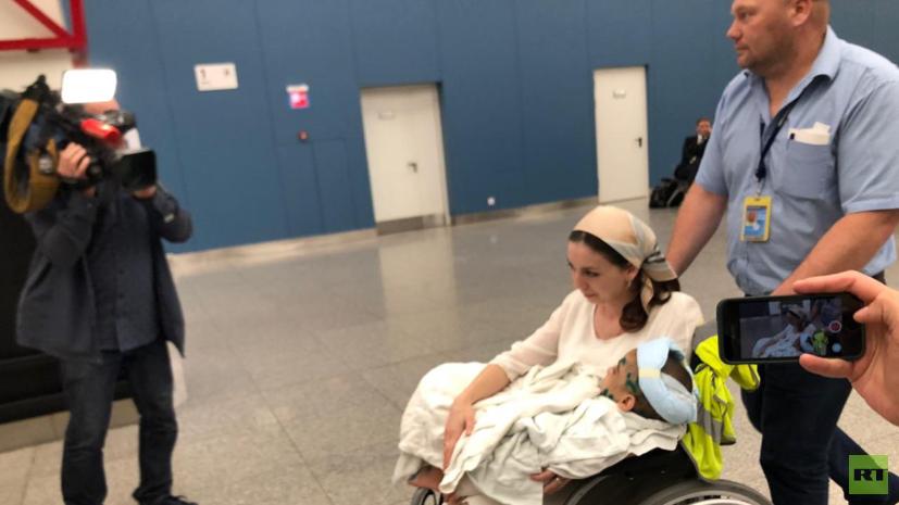 Избитую в Ингушетии девочку доставили в Москву