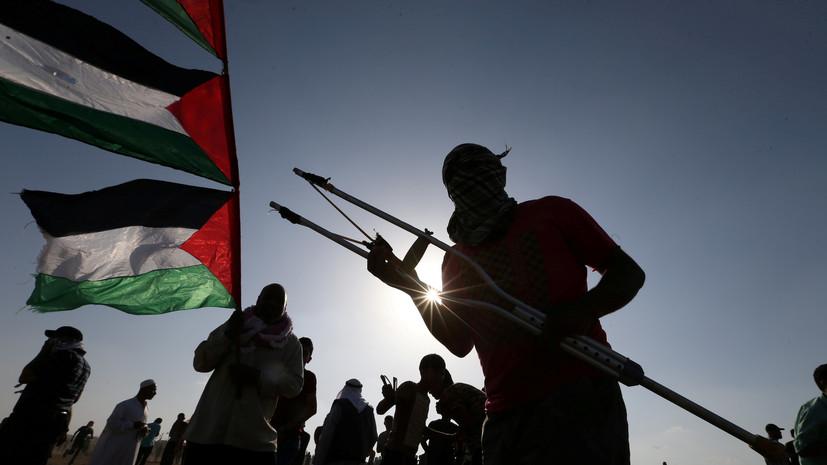 Число пострадавших в стычках с армией Израиля в секторе Газа палестинцев выросло до 40