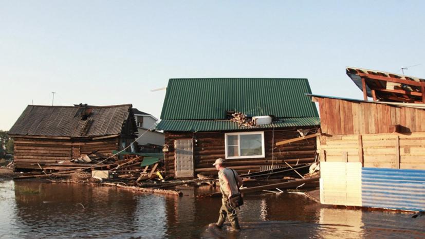 Более 400 человек госпитализированы из-за паводка в Иркутской области