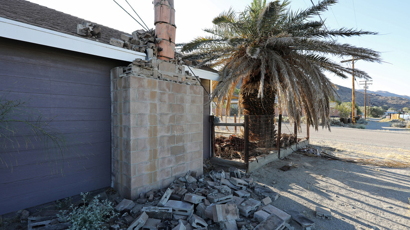 Около 3 тысяч человек остались без света в Калифорнии из-за землетрясения