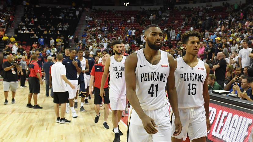 Матчи Летней лиги НБА перенесены из-за землетрясения