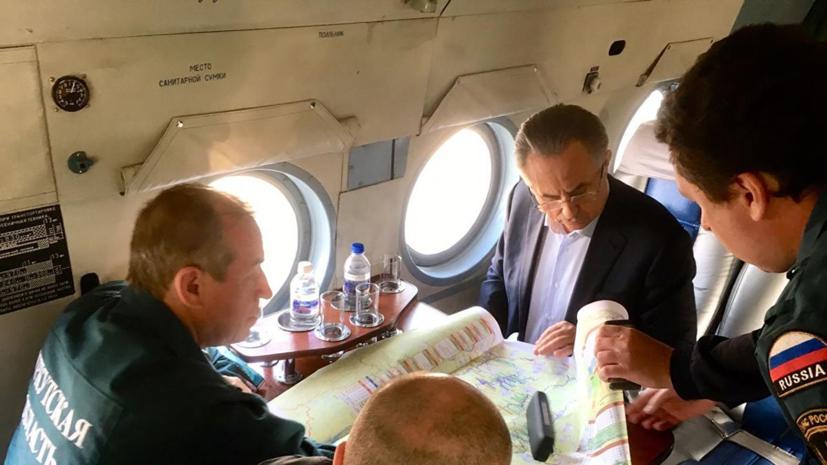 Мутко призвал запретить строительство в зонах подтопления в Иркутской области