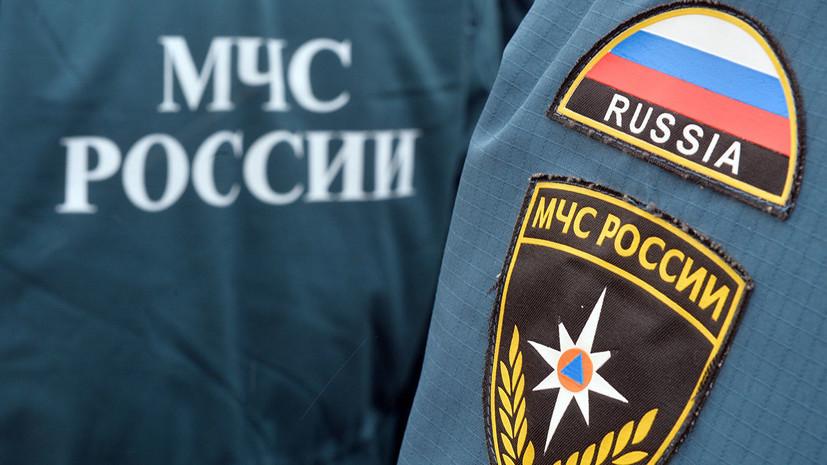 В центре Москвы автомобиль c двумя людьми упал в реку