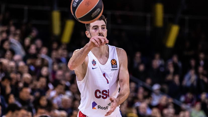 «Фенербахче» объявил о подписании контракта с экс-баскетболистом ЦСКА де Коло