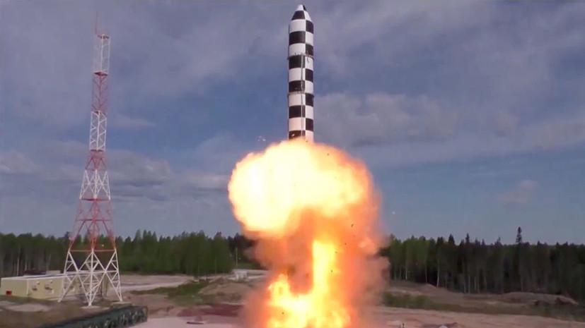 Рогозин назвал сроки завершающей стадии испытаний «Сармата»
