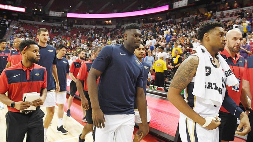 «Как будто кто-то толкнул»: в США матчи Летней лиги НБА были прерваны из-за землетрясения