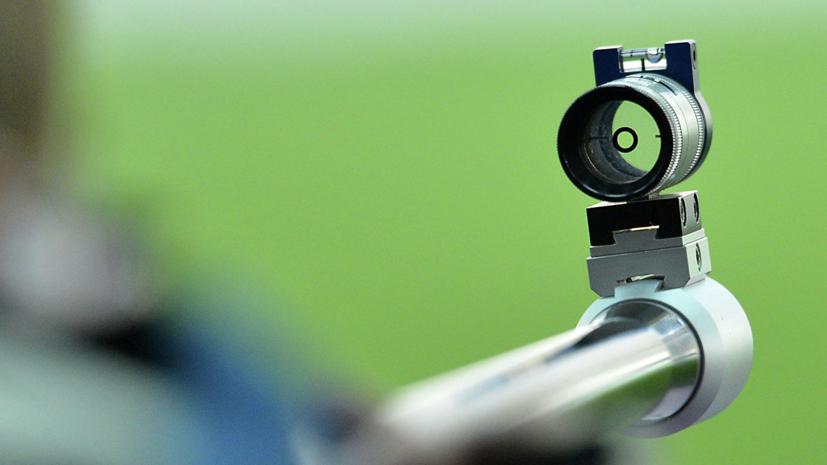 Панченко занял третье место в стрельбе из пневматической винтовки на Универсиаде