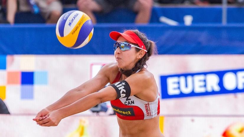 Канадки Паван и Хамана-Паредес стали чемпионками мира по пляжному волейболу
