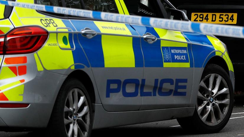 В результате ЧП в Лондоне четыре человека получили ножевые ранения