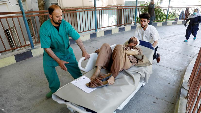 При взрыве в Афганистане погибли 12 человек