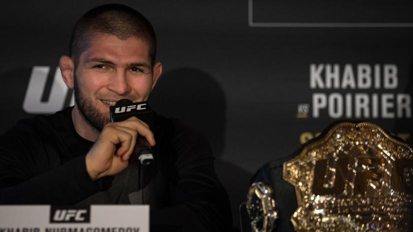 Нурмагомедов и Диас устроили потасовку на трибунах на турнире UFC 239
