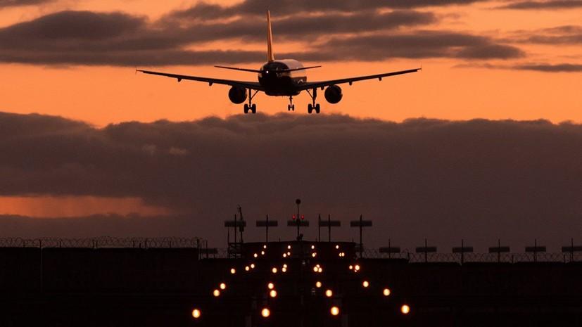 Следовавший в Ростов-на-Дону самолёт сел в Уфе из-за недомогания пассажира