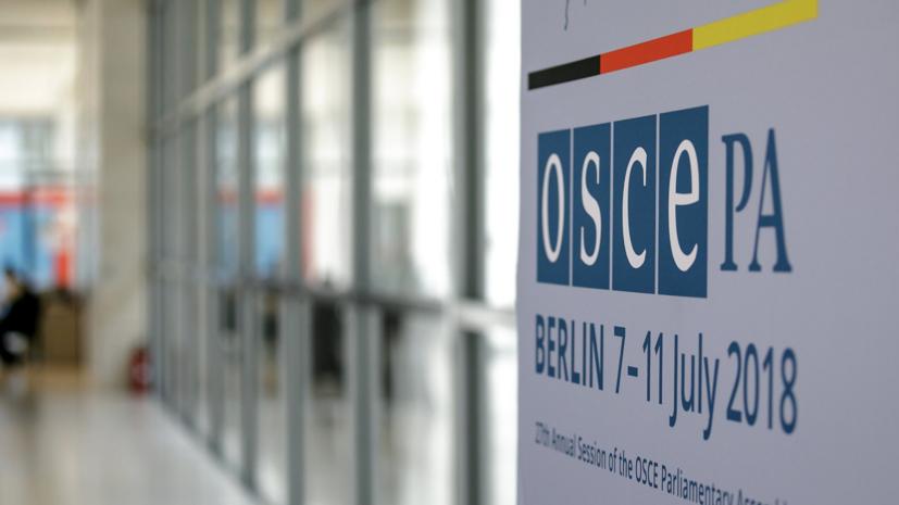 В ПА ОБСЕ призвали Россию отменить признание Южной Осетии и Абхазии