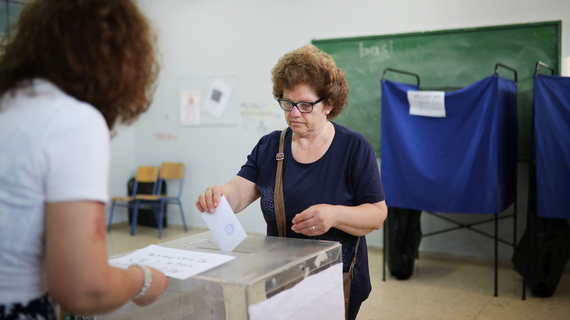 Экзитпол: партия «Новая демократия» лидирует на выборах в Греции