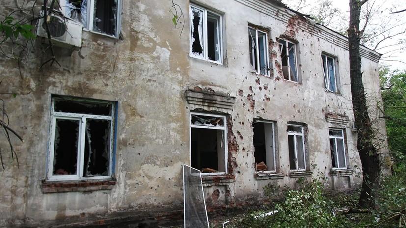 Съёмочная группа телеканала «Звезда» попала под обстрел в Донбассе