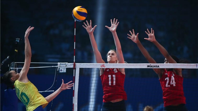 Женская сборная США по волейболу во второй раз подряд выиграла Лигу наций