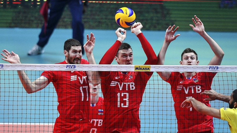 Волейболист Михайлов не сыграет за сборную России в «Финале шести» Лиги наций