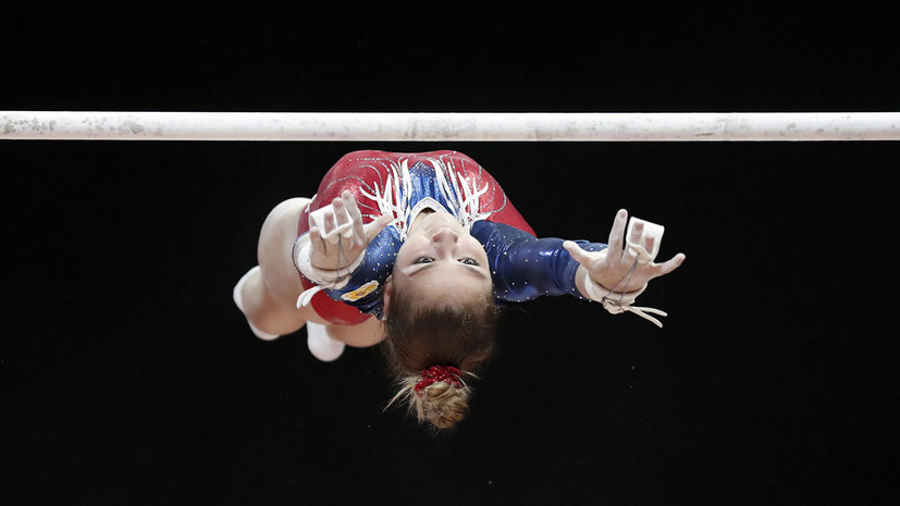 Гимнастка Перебиносова завоевала бронзу на Универсиаде-2019