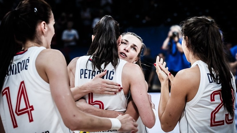 Женская сборная Сербии обыграла Великобританию в матче за бронзу Евробаскета-2019