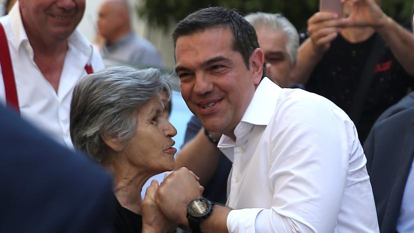 Ципрас поздравил лидера «Новой демократии» с победой на выборах в Греции