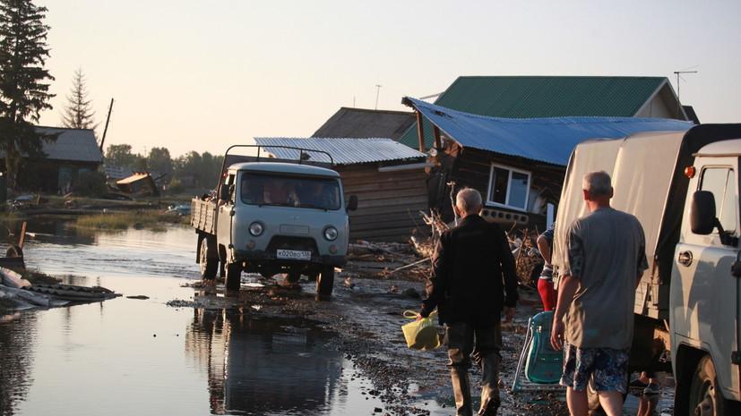 Паводковая ситуация в Красноярском крае стабилизировалась
