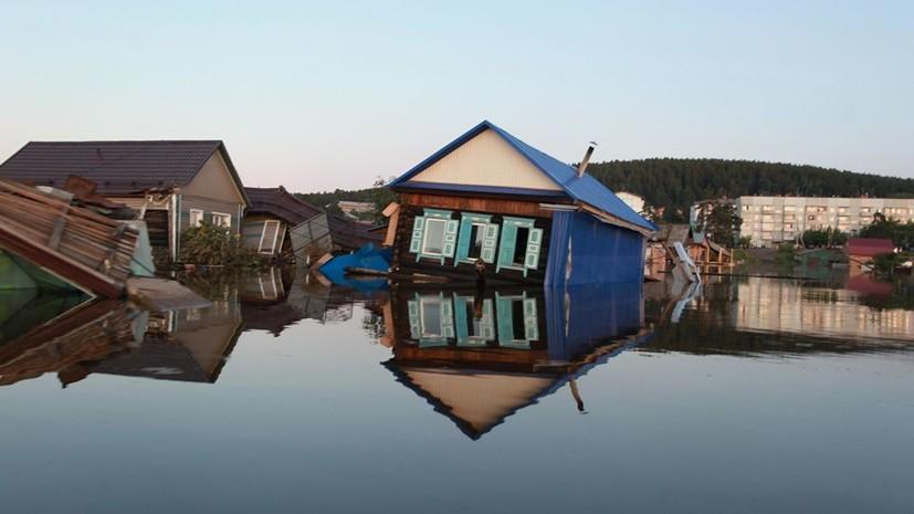 Синоптики назвали рекордным паводок в Иркутской области