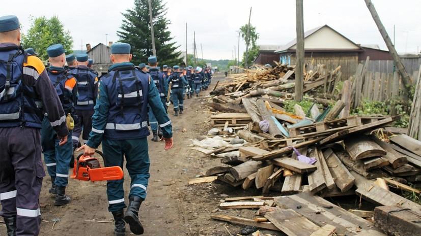 Число погибших при наводнении в Иркутской области увеличилось до 23