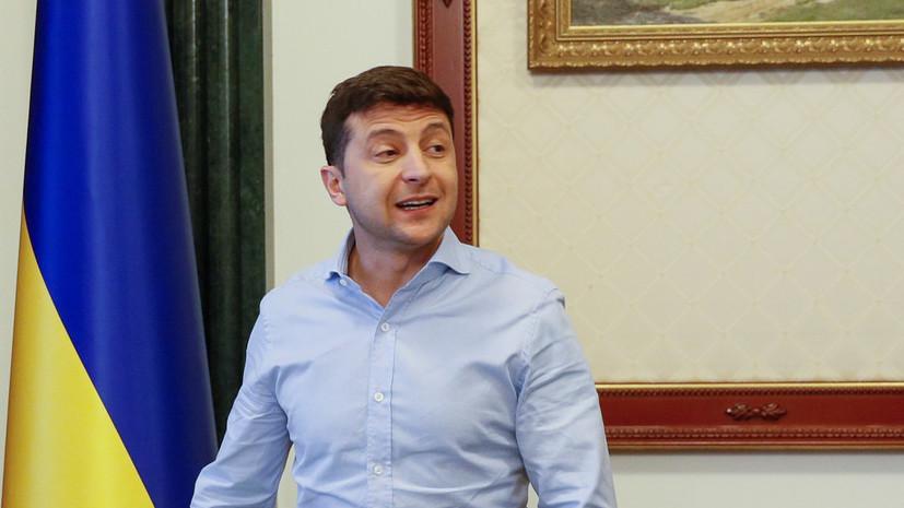 Зеленский предложил Путину провести переговоры по Крыму в Минске