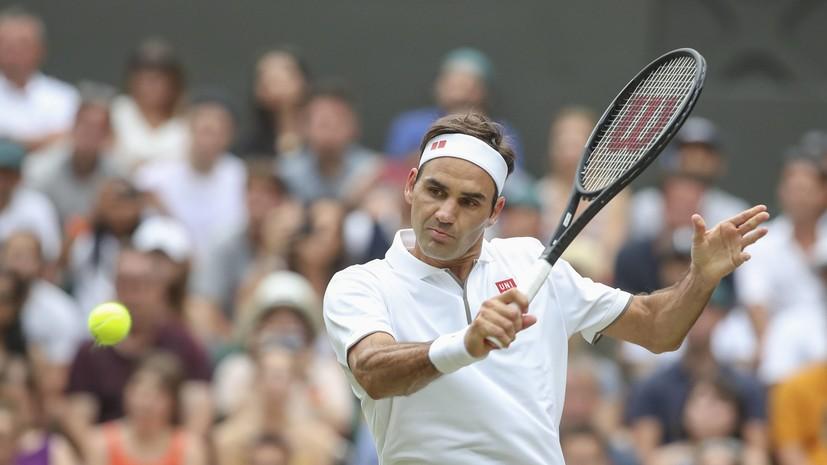 Федерер обыграл Берреттини и сыграет в 1/4 финала Уимблдона