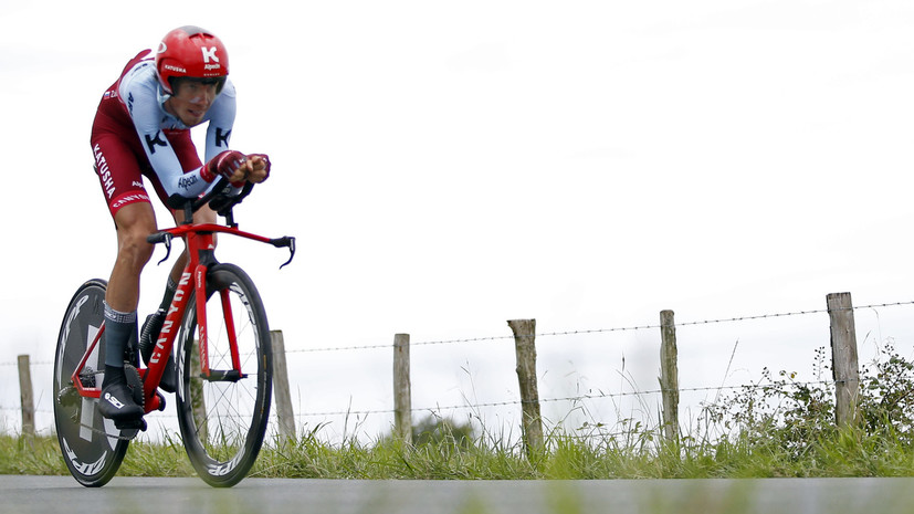 Велогонщик Закарин высказался о ситуации вокруг будущего команды Katusha-Alpecin